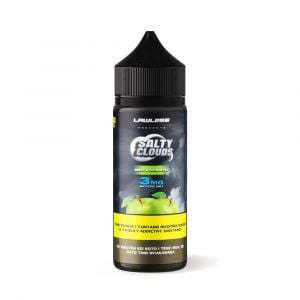 Lawless Salty Clouds Sweet and Sour Apple Sub-Ohm Nicotine Salt 120ml