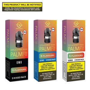 Palm Fit 5 Flavours Mixed Pack