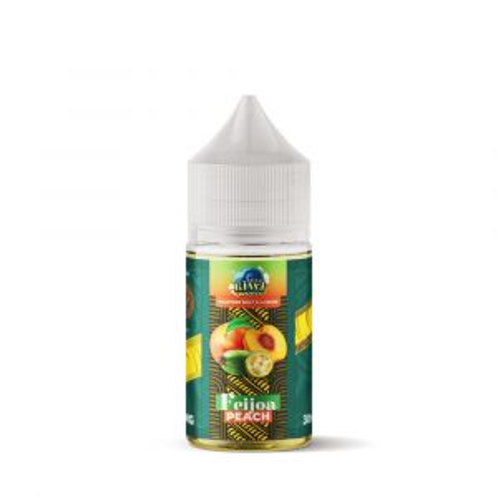 Salty Kiwi World FeijoaPeach Nicotine Salt E-liquid 30ml