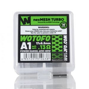 Wotofo NexMesh Turbo A1 Mesh Replacement Coils