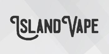 Logo of the Island Vape Nicotine E-Liquid series