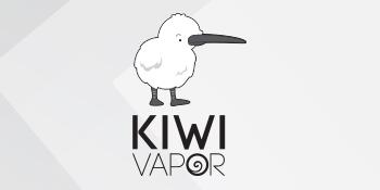 Logo of the Kiwi Vapor Nicotine E-Liquid series