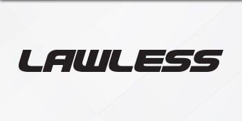 Logo of the Lawless Nicotine E-Liquid series