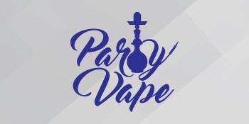 Logo of the Party Vape Nicotine E-Liquid series