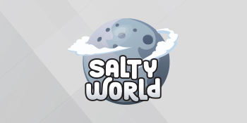 Logo of the Salty World Nicotine E-Liquid series
