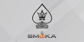 Logo of the SMOKA Royal Flush Nicotine E-Liquid series