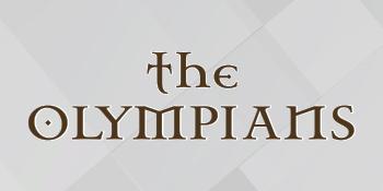 Logo of the Olympians Nicotine E-Liquid series