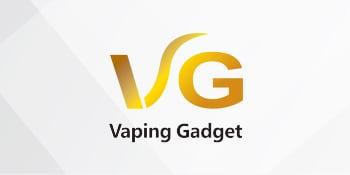 Logo of the Vaping Gadget Nicotine E-Liquid series