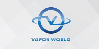 Logo of the Vapor World Nicotine E-Liquid series