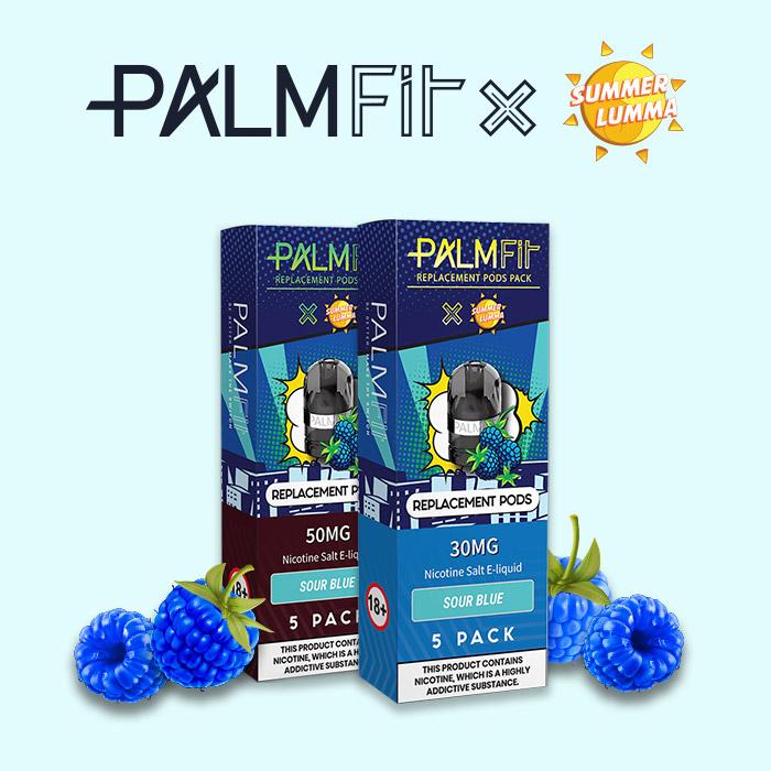 Blue Raspberry E-Liquid for Palm Fit Vape Kit