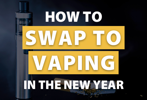 Banner for How to Swap to Vaping blog article
