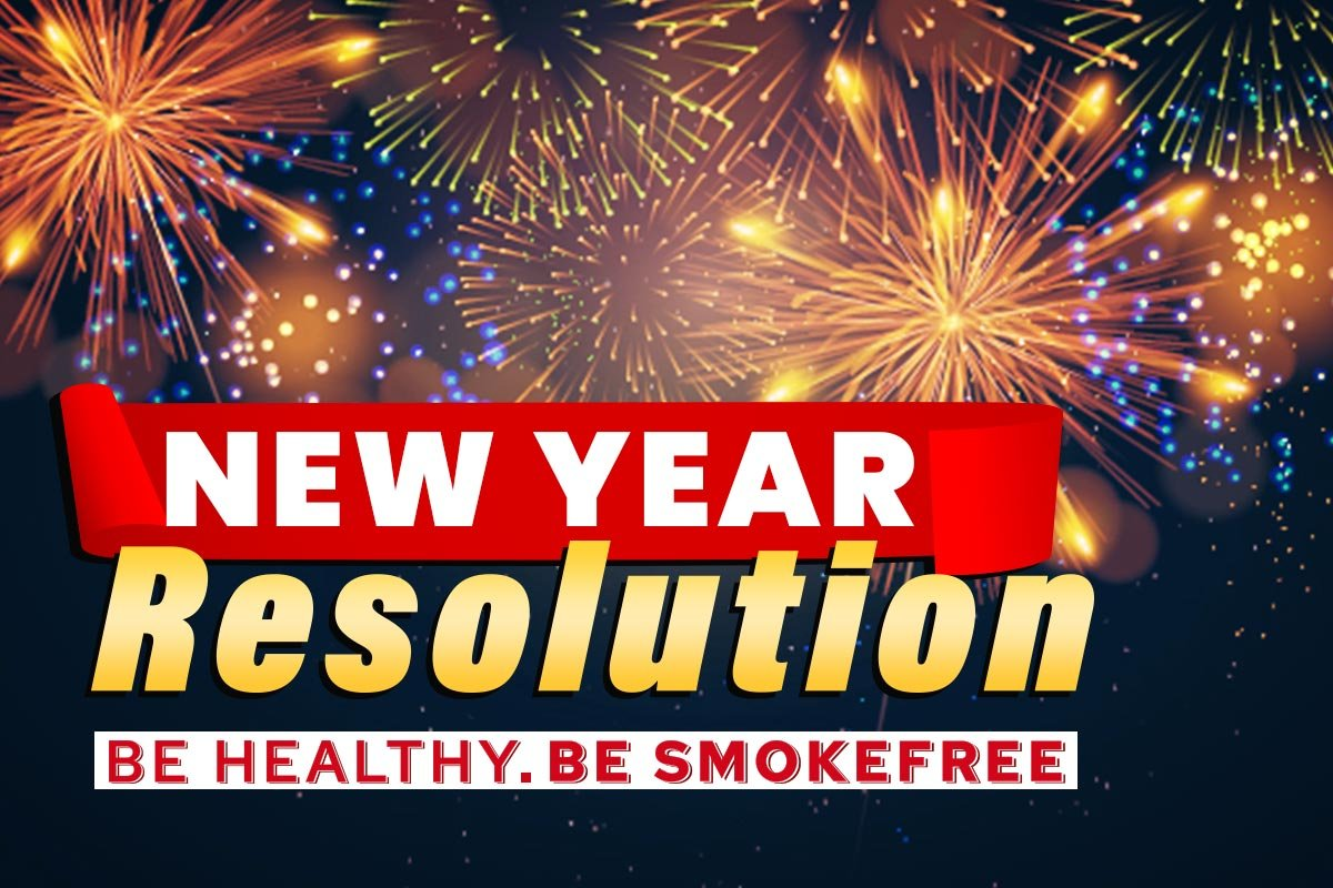 Phone Banner for New Year's Resolution 2021 Promotion
