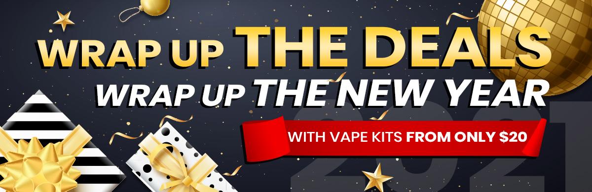 Desktop Banner for Vape Deals for New Year's Resolution 2021