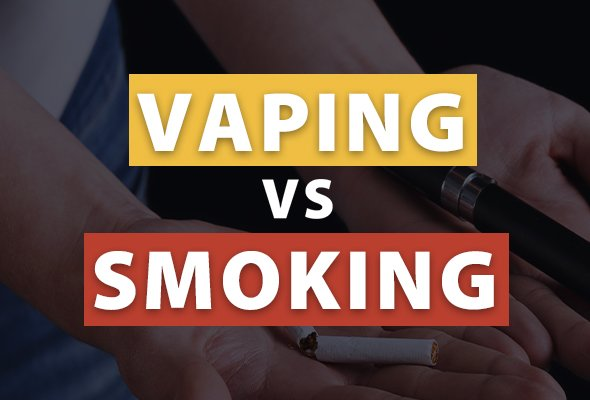 Banner for Vaping vs Smoking article