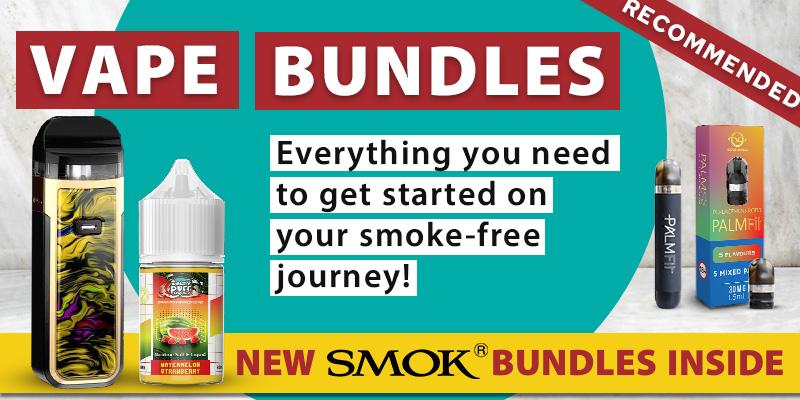 Vape Bundles Phone Banner For Stoptober Promotion Page