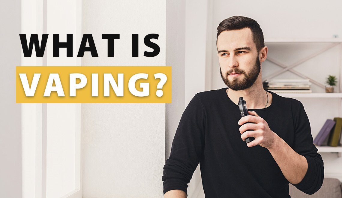 Main Banner Photo for What is Vaping page
