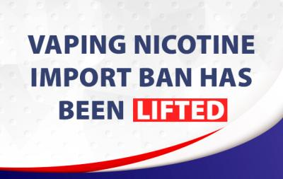 Australia Vaping Nicotine Import Ban Has Been Lifted!