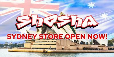 Shosha's first vape store in Australia has just opened!