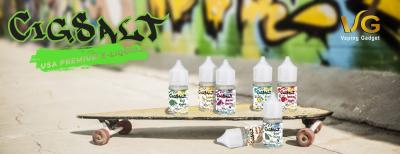 Tag Your Style With The Brand New CigSalt Nicotine Salt E-Liquids From USA