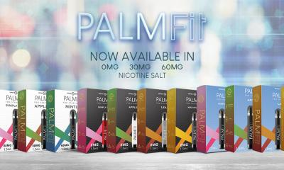 Palm Fit is now available with 0mg, 30mg, 60mg nicotine strength