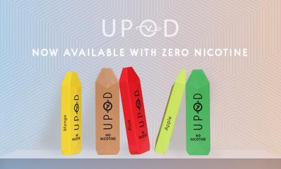Vapor World UPOD Is Now Available With Zero Nicotine!