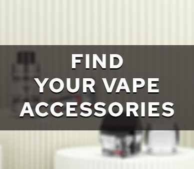Vape Accessories Finder banner in February 2021