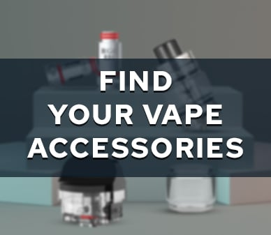 Find Your Vape Accessories Banner in May 2021 theme