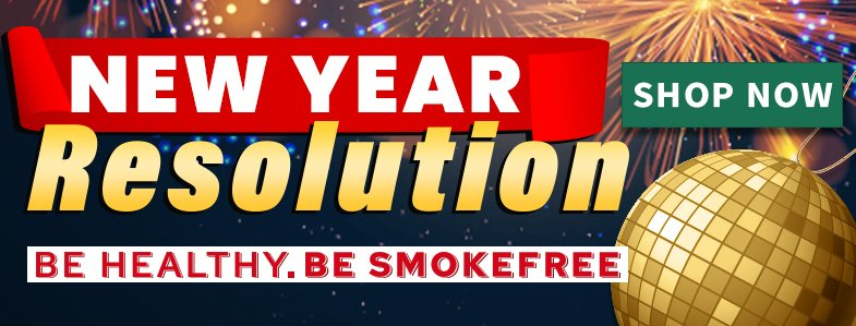 New Year's Resolution 2021 - Quit Smoking With Shosha