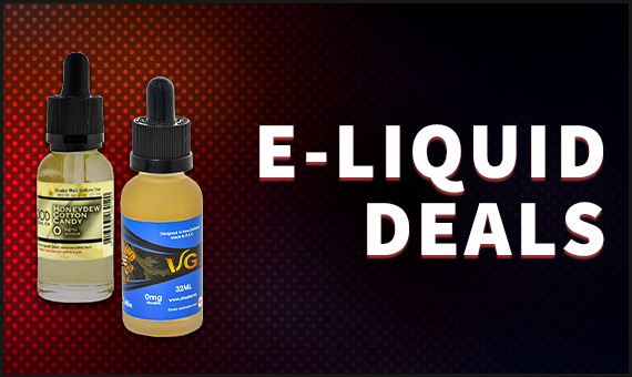 E-Liquid Deals Banner