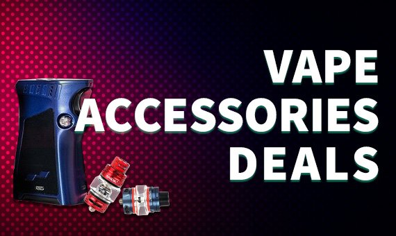 Vape Accessories Deals Banner