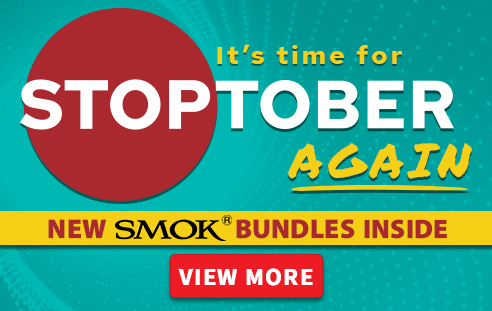 Stoptober 2020 With New SMOK Bundles - Quit Smoking With Us